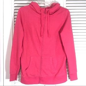 Old Navy - Pink Zip-Up Hoodie! (Size Small)